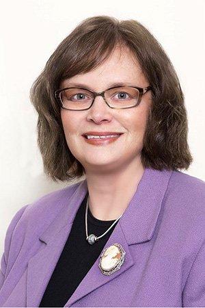 Louise Hummel, RN, dedicated volunteer member of the White Horse Village Board of Directors