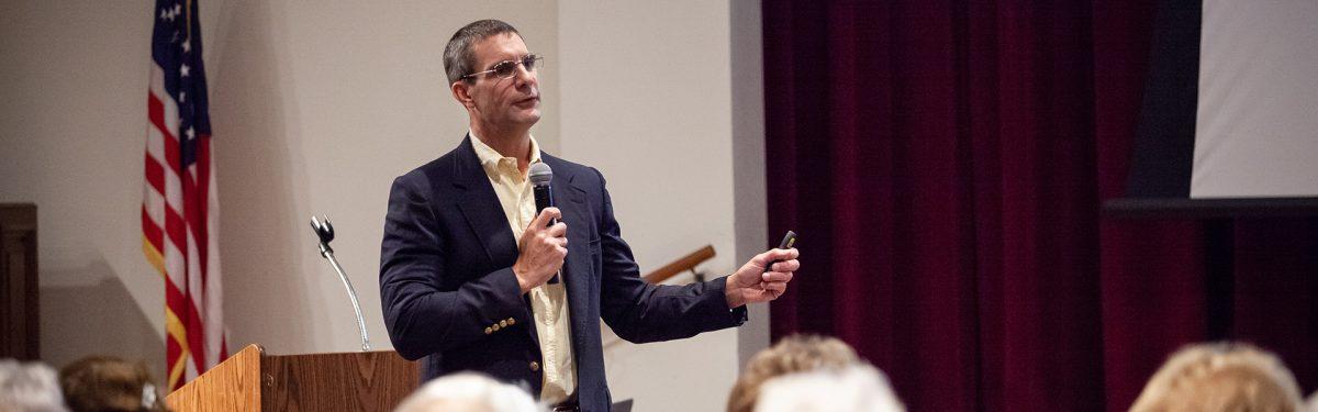 Guest speaker gives presentation on healthy senior living