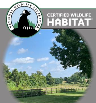 White Horse Village Certified Wildlife Habit community